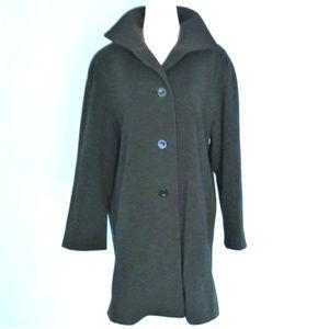 Vintage JOHN WEITZ Cashmere Coat, Oversized, sz 6